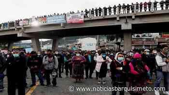 Protestas en Guatemala piden renuncia del presidente Giammattei - Noticias Barquisimeto