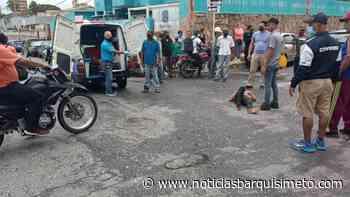 3 pasajeros en una moto y ¡Pum! tremendo choque en Barquisimeto - Noticias Barquisimeto