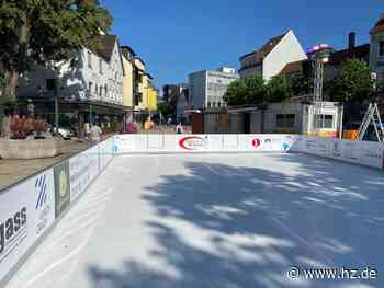 Schlittschuhfahren in Heidenheim: Auf dem Heidenheimer Eugen-Jaekle-Platz öffnet am Samstag die Schlittschuhbahn - Heidenheimer Zeitung