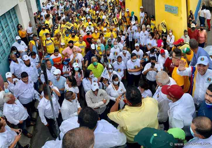 Luis Eduardo Martínez: El 21 de noviembre inicia la Venezuela que soñamos