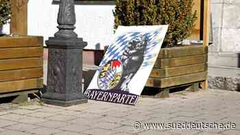 Bundestagswahl Starnberg: Bayernpartei ausgeschlossen - Süddeutsche Zeitung