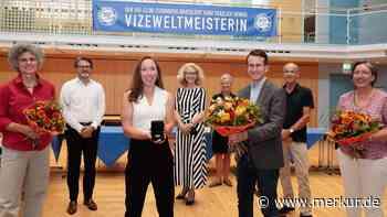 Starnberg - Landkreismedaille für Vizeweltmeisterin Kira Weidle - Merkur Online