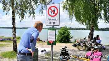 Party-Exzesse Jugendlicher: Alkoholverbot am Wörthsee - Süddeutsche Zeitung