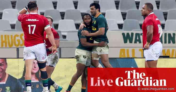 South Africa 27-9 British & Irish Lions: second Test – live!
