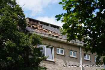 Brand in Nieuw Gent: dak van woning is verwoest - Het Nieuwsblad