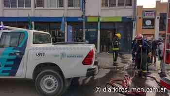 Intento de motín en la Comisaría Pilar 1º: presos incendiaron un calabozo - Diario Resumen - El Diario de Pilar