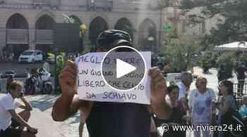 No green pass, torna la protesta a Sanremo: decine di persone in piazza Colombo - Riviera24