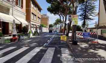 Sanremo: un'altra caduta oggi sulla ciclabile per le radici dei pini, i bikers chiedono un intervento definitivo - SanremoNews.it
