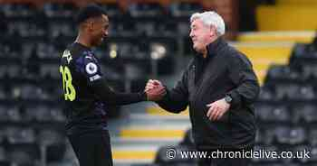 Steve Bruce offers a transfer update and Joe Willock hope