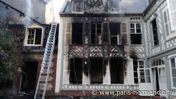 Trois hommes blessés et de nombreux pompiers mobilisés à Eu pour éteindre un incendie - Paris-Normandie