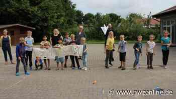 Ferienbetreuung in Lienen: 18 Kinder mit Feuereifer dabei - Nordwest-Zeitung