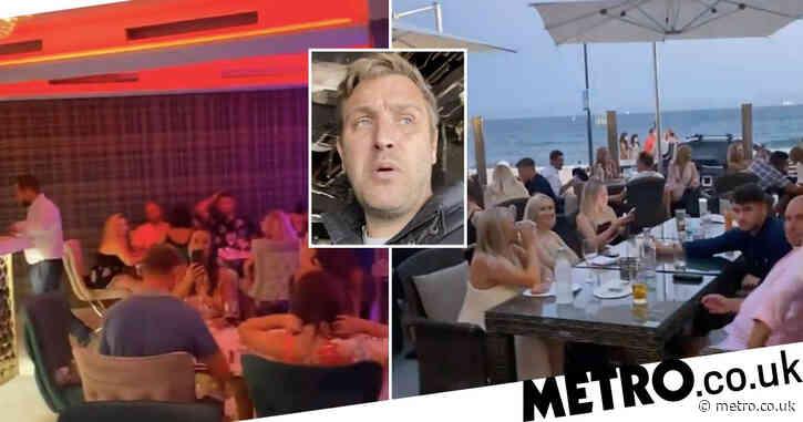 Towie's Elliott Wright reopens restaurant just three months after it burnt down in huge blaze