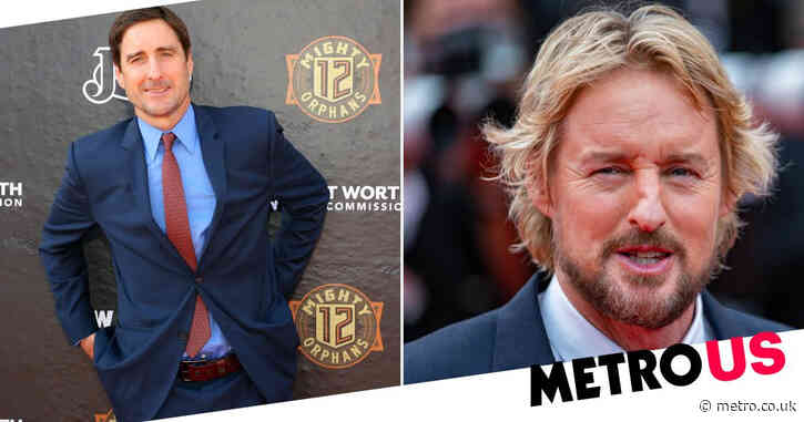 Owen Wilson and brother Luke lived together while working on rival Marvel and DC superhero series