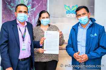Firman convenio para construcción de PTAR en Villapinzón - Extrategia Medios