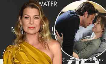 Ellen Pompeo says her husband found her Grey's Anatomy sex scenes 'hard' at first