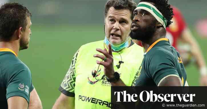 Springboks' battling win leaves rogue warrior Erasmus with no regrets | Gerard Meagher