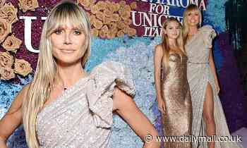 Heidi Klum sizzles with lookalike daughter Leni at glitzy charity gala in Capri
