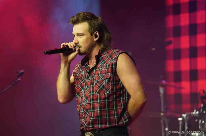Morgan Wallen Makes a Surprise Cameo at Luke Bryan's Nashville Concert, Performs Pair of Hits