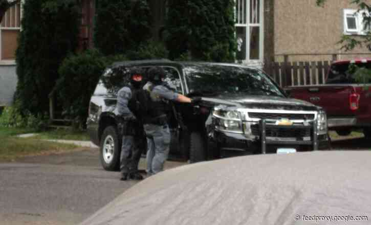 Norah Street Standoff Ends with Two Arrests
