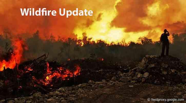 Northwest Fire Region –July 30, 2021 – Wildfire Update