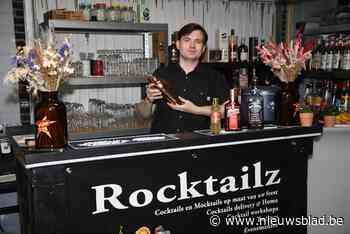 """Bjorn (31) tovert zijn garage elk weekend om tot cocktailbar: """"Mijn eigen creaties vernoem ik naar mijn rockhelden"""" - Het Nieuwsblad"""