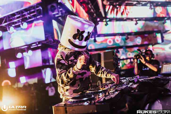 Marshmello Opens His Lollapalooza Set With New Ray Volpe Collab [WATCH]