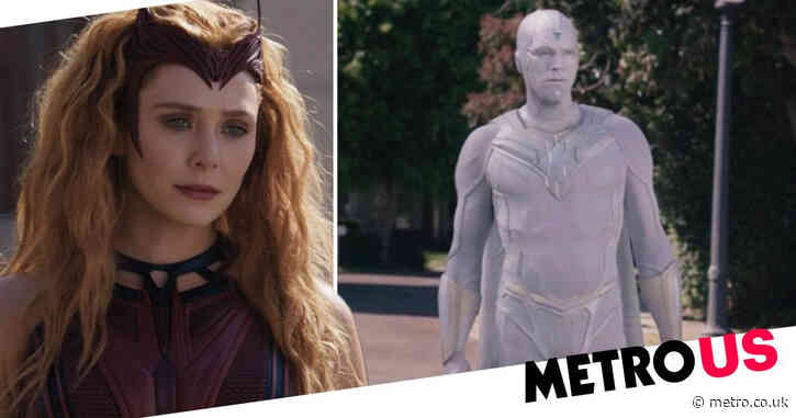 WandaVision: Concept art reveals alternate finale battle between Scarlet Witch and White Vision in epic showdown