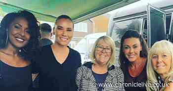 Excited Michelle Heaton makes Liberty X comeback at Durham Pride