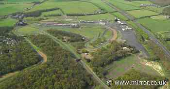 Marshal dies as car flips off track at Brands Hatch racetrack