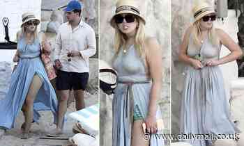 Tiffany Trump relaxes in Mykonos with billionaire fiance Michael Boulos