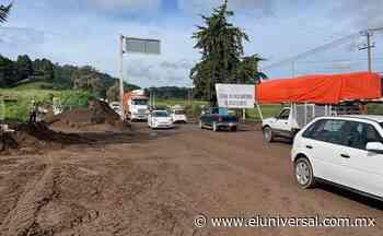 Deslaves por las lluvias causan afectaciones en carretera Tenango-Tenancingo | El Universal - El Universal