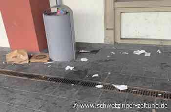 Leser ärgern sich über verschmutzten Schwetzinger Bahnhof - Schwetzingen - Nachrichten und Informationen - Schwetzinger Zeitung