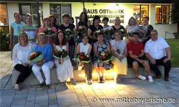 Pflegedienst Röger ehrt langjährige Mitarbeiterinnen - Region Cham - Nachrichten - Mittelbayerische