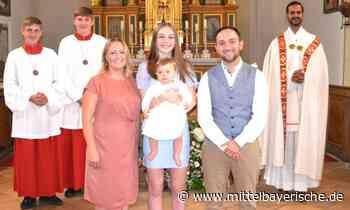 Eleni ist nun ein Kind Gottes - Region Cham - Nachrichten - Mittelbayerische