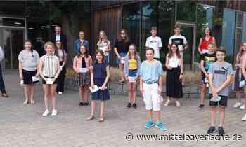 Ehrung der Klassenbesten an der Realschule - Region Cham - Nachrichten - Mittelbayerische