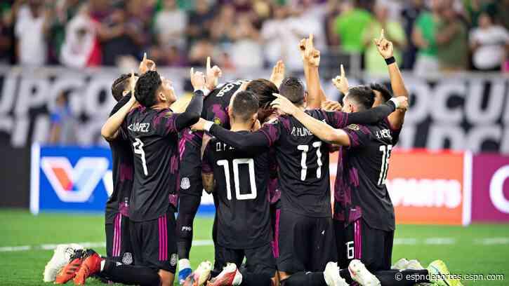 Dedicatoria especial en los goles de México para Jonathan dos Santos - ESPN Deportes