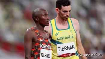 'I did give it everything': Tiernan says he is still hurting despite the support for the Australian runner