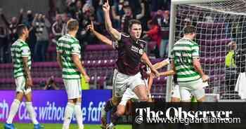 Scottish Premiership: Celtic slump to opening defeat at promoted Hearts