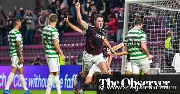 Celtic slump to opening Scottish Premiership defeat at promoted Hearts