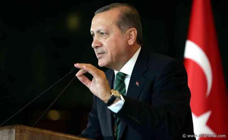 Erdogan anunció detención de sospechoso de provocar incendios al sur del país