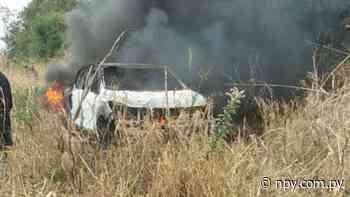 Asalto y quema de vehículo en estancia de San Pedro | Noticias Paraguay - NPY