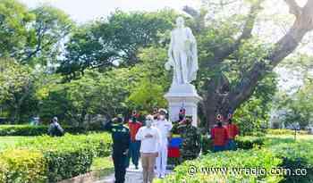 Presidente Duque entregó ofrenda floral al libertador Simón Bolívar en Santa Marta - W Radio
