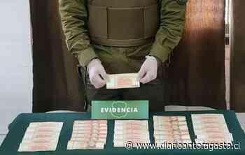 Detienen a sujeto en San Pedro de Atacama por amenazas de muerte y circular billetes falsos - El Diario de Antofagasta