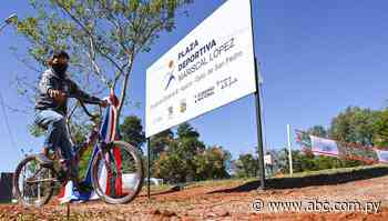 SND inaugura Plaza Deportiva en San Pedro - Polideportivo - ABC Color