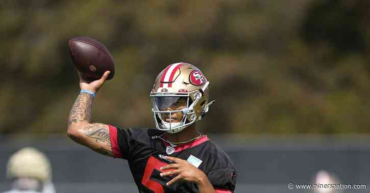 49ers training camp practice recap, Day 4: The QB narrative is starting to shift