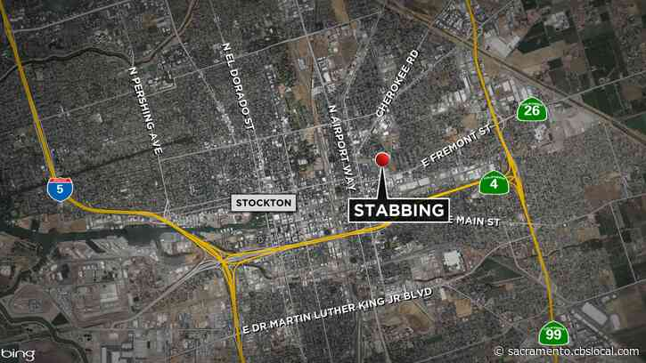 Fight Leads To Stabbing Outside Of Stockton Home