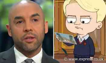 'Definitely crossed the line!' Alex Beresford slams controversial Prince George parody - Express