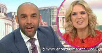 Alex Beresford shocks GMB viewers with 'inappropriate' comment to Charlotte Hawkins - Entertainment Daily