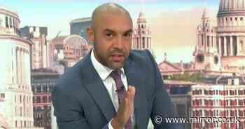 GMB's Alex Beresford defends Simone Biles for avoiding 'danger' amid Piers Morgan backlash - The Mirror