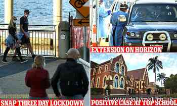 Covid-19 Australia: Queensland three day snap lockdown likely to be extended